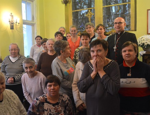 Wizytacja Biskupa Pomocniczego Archidiecezji Warmińskiej Janusza Ostrowskiego